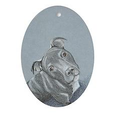 Cute Jasmin Ornament (Oval)