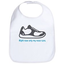 Running Nose - Bib (Blue)