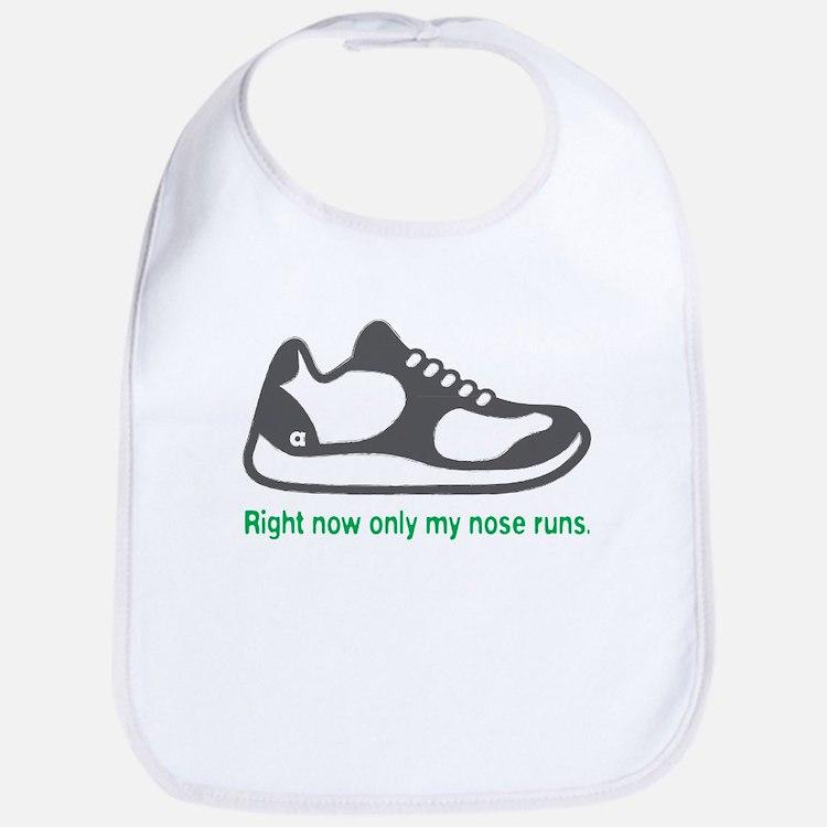 Running Nose - Bib (Green)