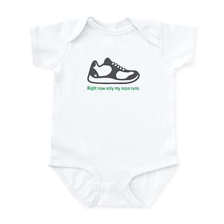 Running Nose - Infant Bodysuit (Green)