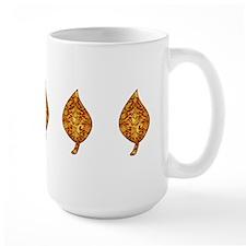 "Gold Leaf ""Leaf"" Mug"