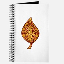 "Gold Leaf ""Leaf"" Journal"