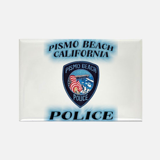 Pismo Beach Police Rectangle Magnet