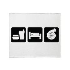 Eat Sleep Boost Throw Blanket