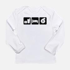 Eat Sleep Boost Long Sleeve Infant T-Shirt