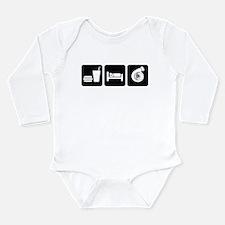 Eat Sleep Boost Long Sleeve Infant Bodysuit