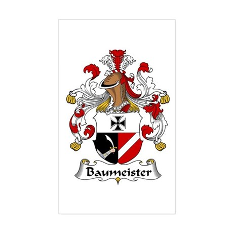 Baumeister Sticker (Rectangle)