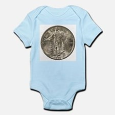 Standing Liberty Obverse Infant Creeper