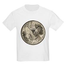 Standing Liberty Reverse Kids T-Shirt