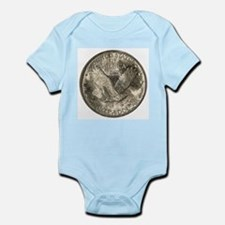 Standing Liberty Reverse Infant Creeper