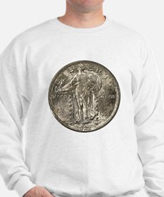 Standing Liberty Double-Sided Sweatshirt