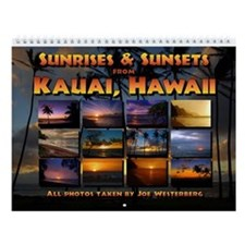 Kauai Sunsets & Sunrises Wall Calendar