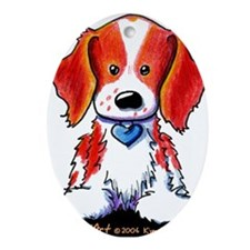Welsh Springer Spaniel Ornament (Oval)