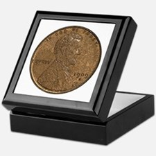 Lincoln Wheat Obverse Keepsake Box