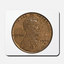 Lincoln Wheat Obverse Mousepad
