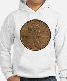 Lincoln Wheat Obverse Hoodie