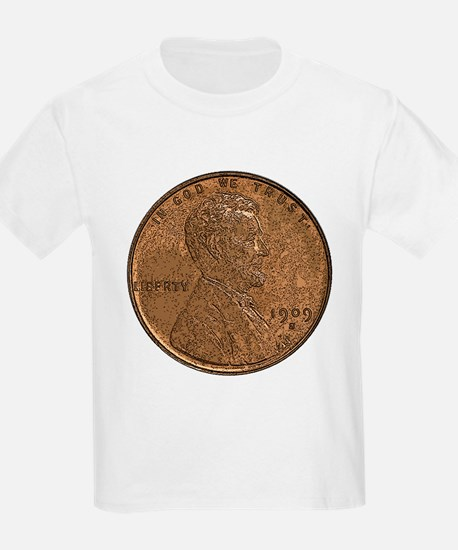 Lincoln Wheat Double-Sided Kids T-Shirt
