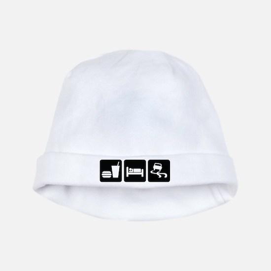Eat Sleep Drift baby hat