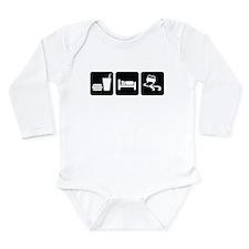 Eat Sleep Drift Long Sleeve Infant Bodysuit