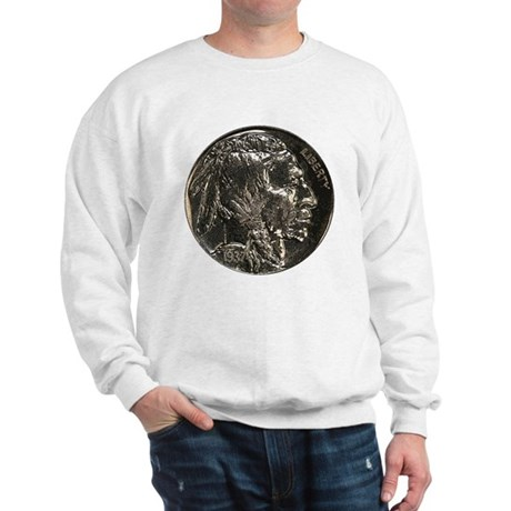 Buffalo Nickel Obverse Sweatshirt
