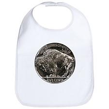 Buffalo Nickel Reverse Bib