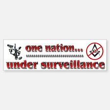NWO Under Surveillance - Bumper Bumper Sticker