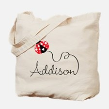 Ladybug Addison Tote Bag