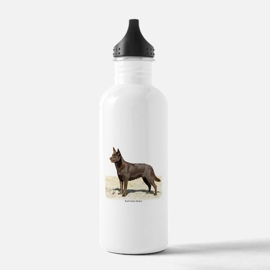 Australian Kelpie 9P21D-247 Water Bottle