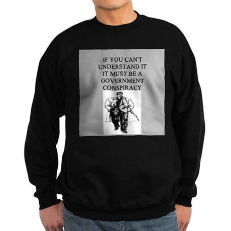 conspiracy theory Sweatshirt (dark)