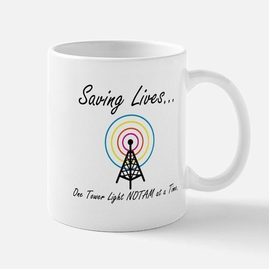 Funny Saving lives Mug