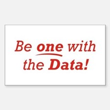 One / Data Decal