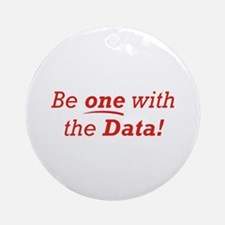 One / Data Ornament (Round)