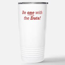 One / Data Stainless Steel Travel Mug