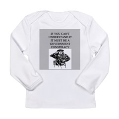 conspiracy theory Long Sleeve Infant T-Shirt