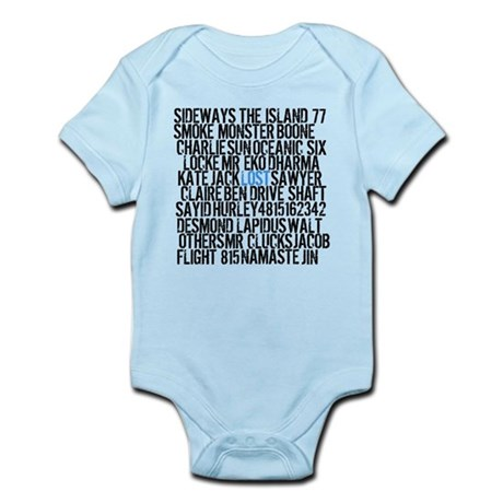 LOST Names Infant Bodysuit