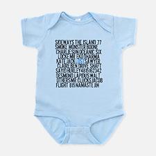 LOST Names Infant Bodysuit