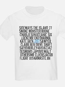 LOST Names T-Shirt