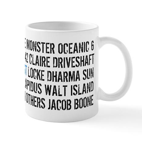 LOST Names Mug