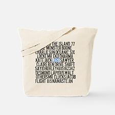 LOST Names Tote Bag