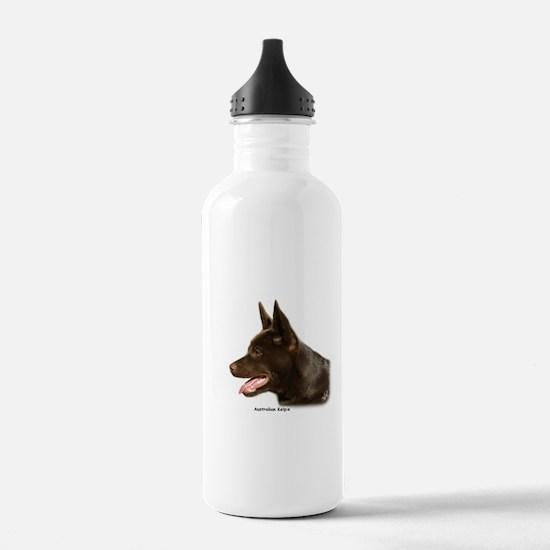 Australian Kelpie 9P24D-134 Water Bottle