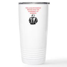 conspiracy theory Travel Coffee Mug