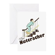 Funny Christmas Nutcracker Greeting Cards (Pk of 2