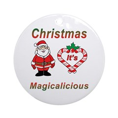 Christmas Magic Ornament (Round)