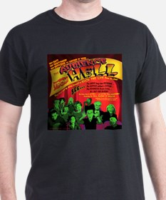 Audience From Hell Horror Movie Black T-Shirt