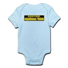 Makes Frequent Stops Infant Bodysuit