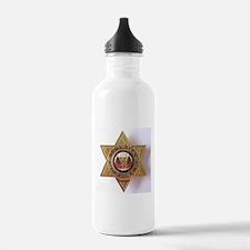 Cute Badge Water Bottle