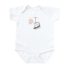 Snowsports Closed - Infant Bodysuit (Orange)