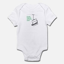 Snowsports Closed - Infant Bodysuit (Green)