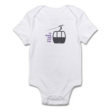 Snowsports Lines - Infant Bodysuit (Purple)