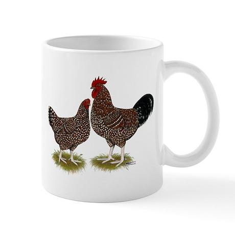 Speckled Sussex Chickens Mug